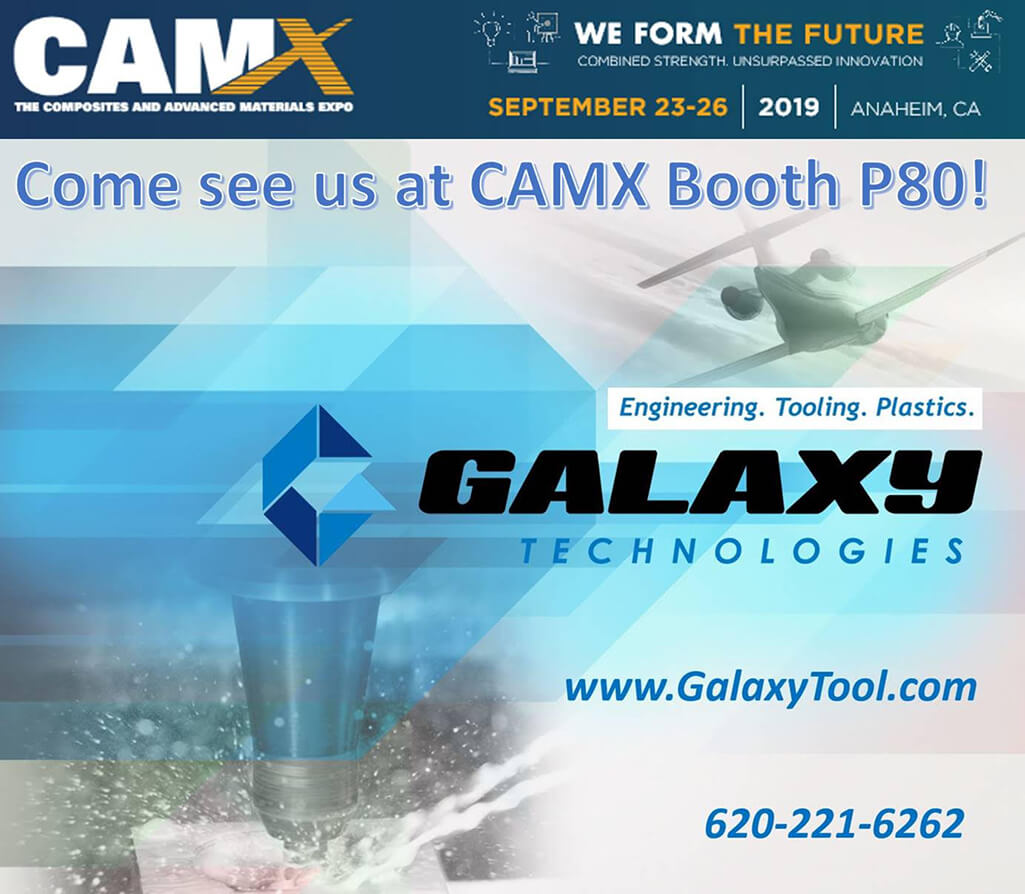 Come see us at CAMX Booth P80!